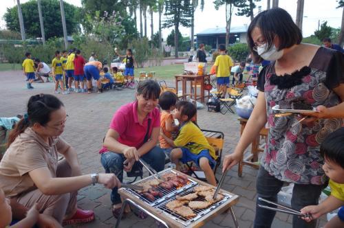 2017.10.3中秋節烤肉活動